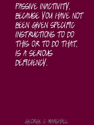 Inactivity quote #1