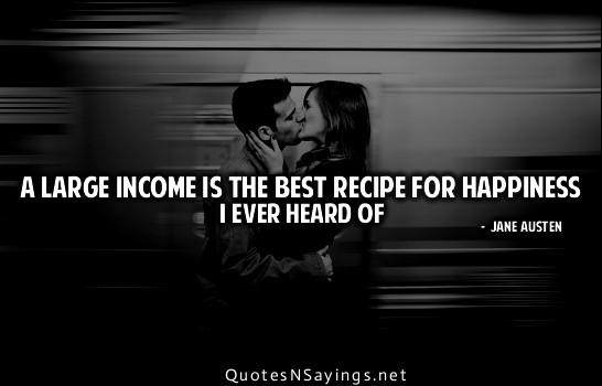 Income quote #6