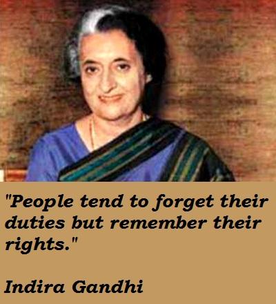 Indira Gandhi's quote #2