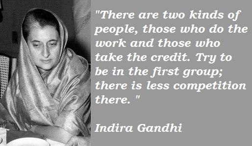 Indira Gandhi's quote #5