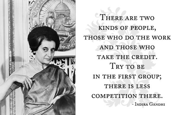 Indira Gandhi's quote #3