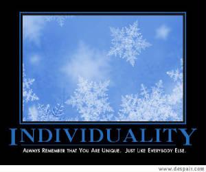 Individualism quote