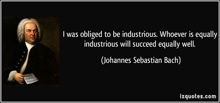 Industrious quote #2