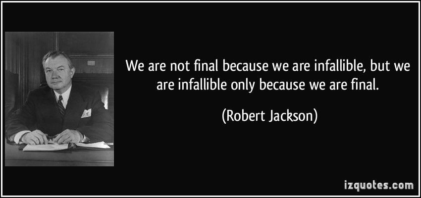 Infallible quote #3