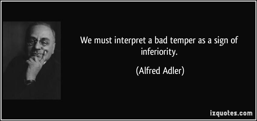 Inferiority quote
