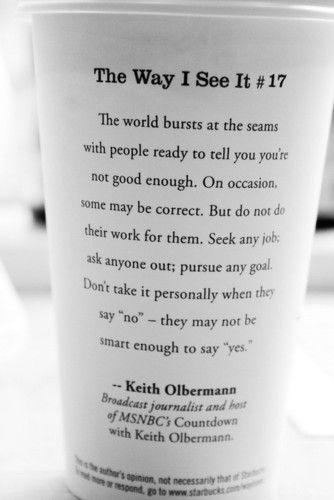 Influential quote #1