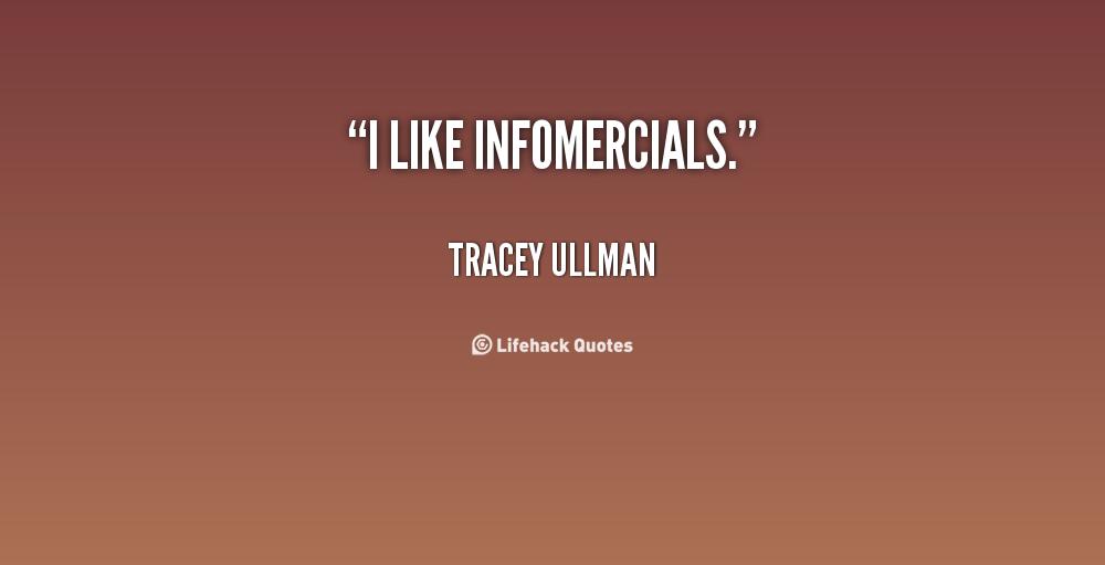 Infomercials quote #2