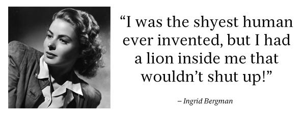 Ingrid Bergman's quote #2