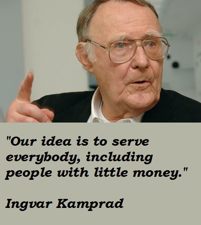 Ingvar Kamprad's quote #1
