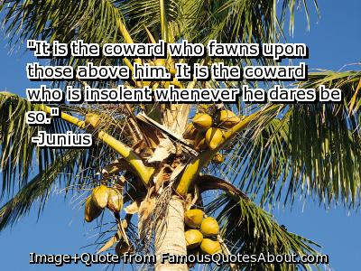 Insolent quote #1