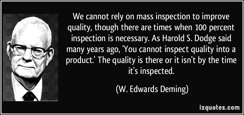 Inspection quote #1