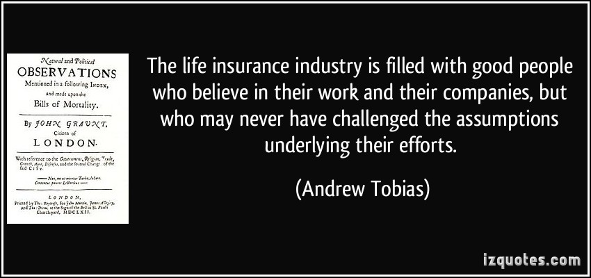 Insurance Industry quote #2