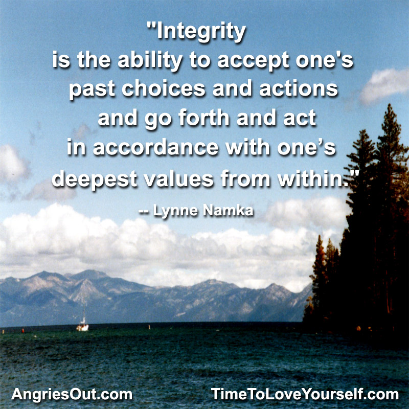 Integrity quote #1