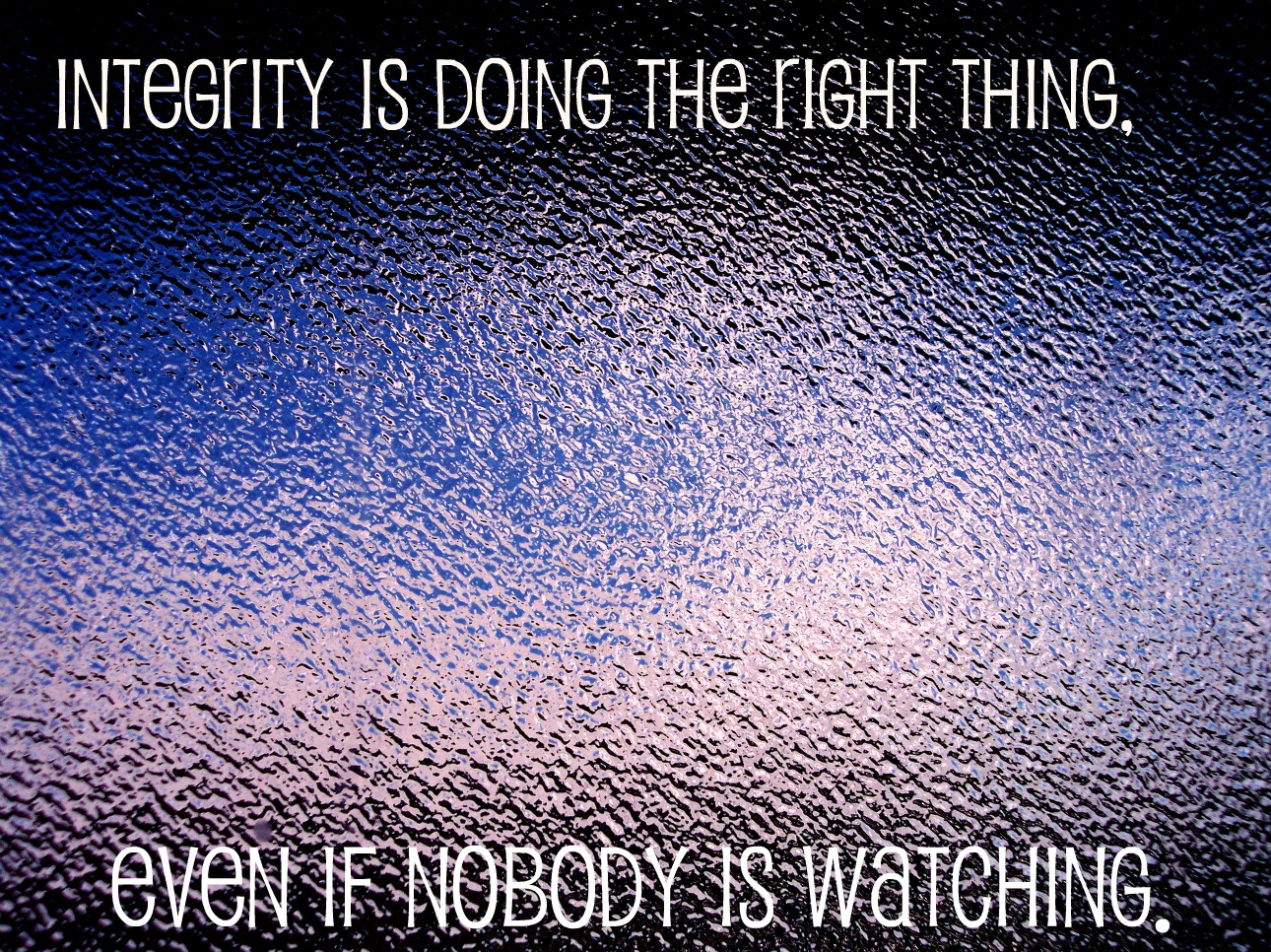 Integrity quote #3