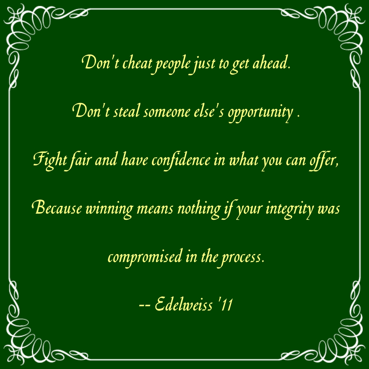 Integrity quote #8