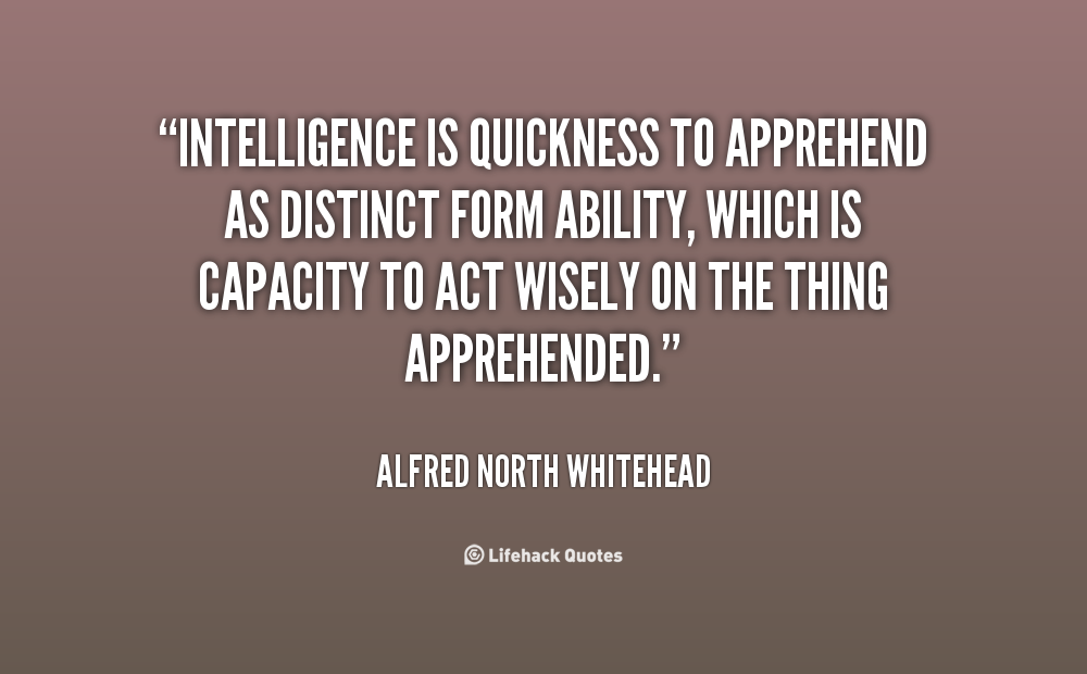 Intelligence quote #8