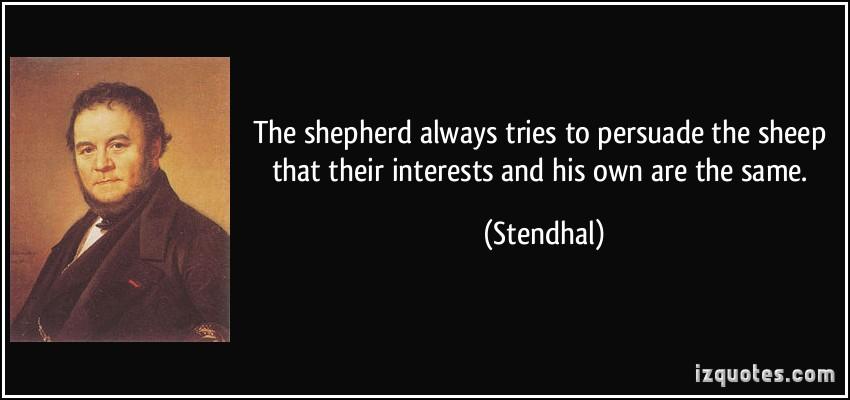 Interests quote #1