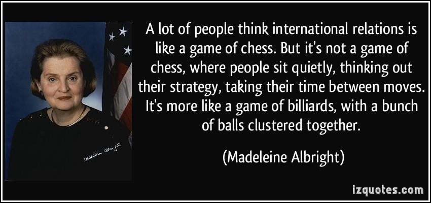 International Affairs quote #1