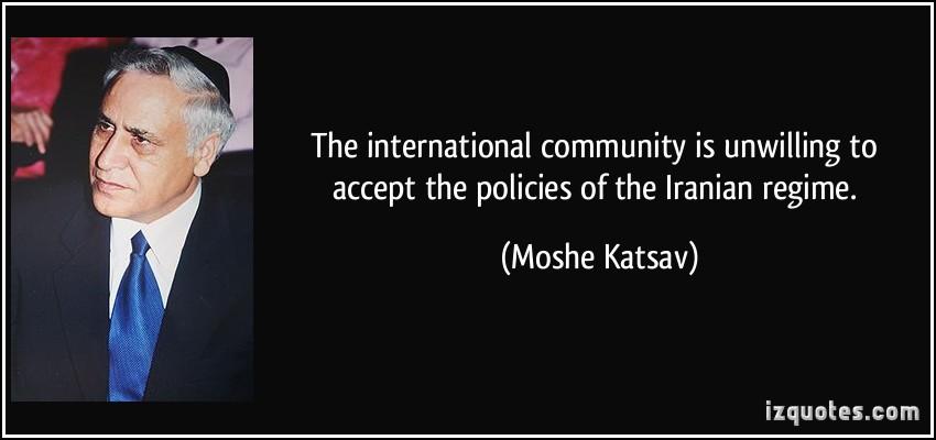 International Community quote #1