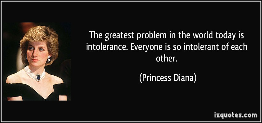 Intolerant quote #2