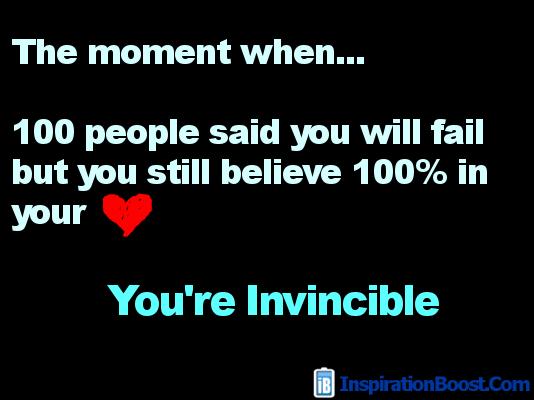 Invincible quote #1