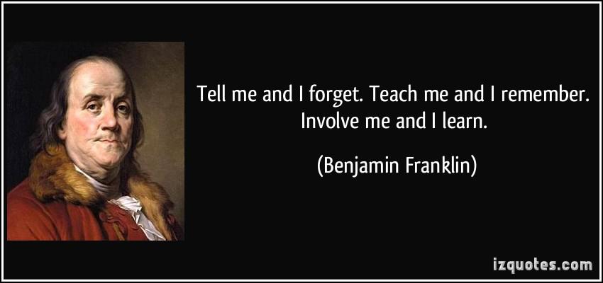Involve quote #1