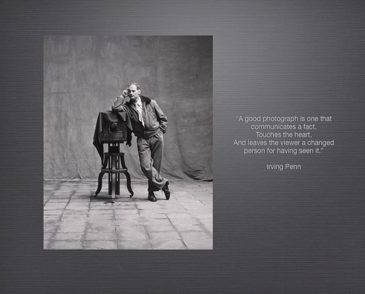 Irving Penn's quote #4
