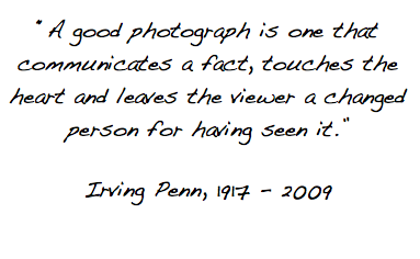 Irving Penn's quote #5