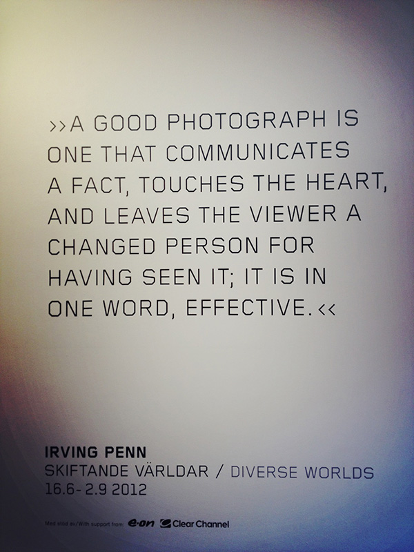 Irving Penn's quote #6