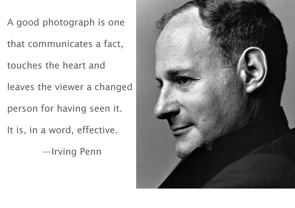 Irving Penn's quote #7