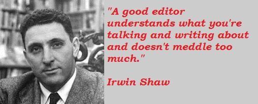 Irwin Shaw's quote #8