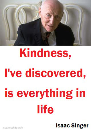Isaac Bashevis Singer's quote #4