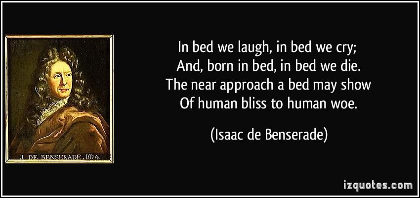 Isaac de Benserade's quote #1