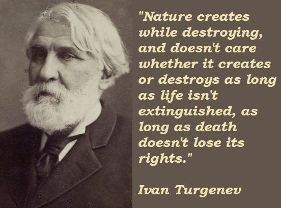 Ivan Turgenev's quote #1