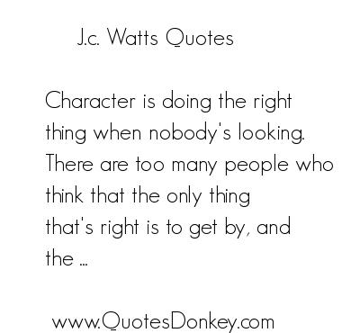 J. C. Watts's quote #5