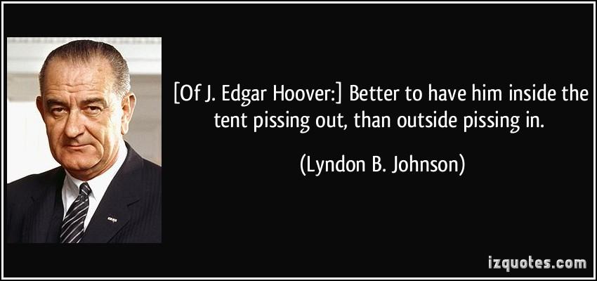 J. Edgar Hoover's quote #2