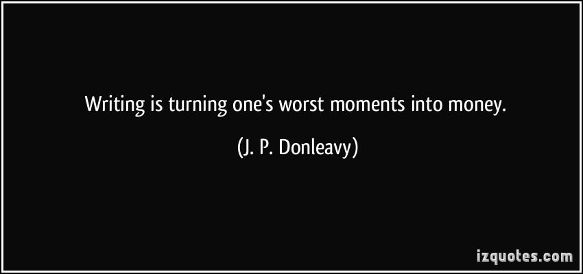 J. P. Donleavy's quote #4