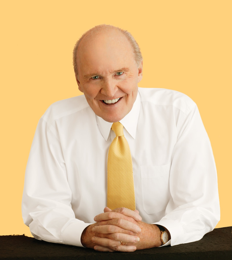 jack welsh Control your own destiny or someone else will - jack welch quotes from brainyquotecom.
