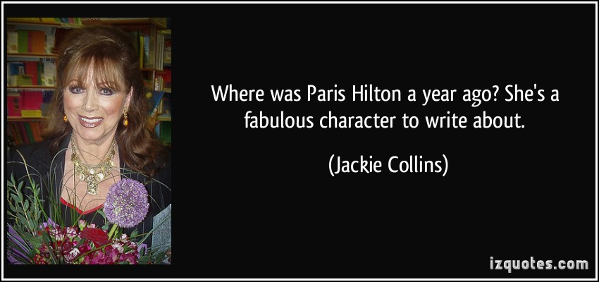 Jackie Collins's quote #2