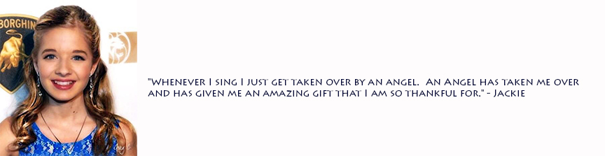 Jackie Evancho's quote #1
