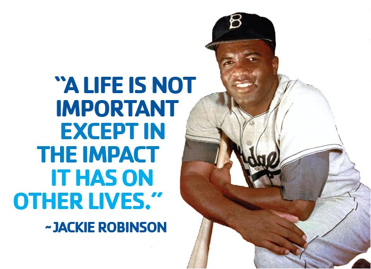 Jackie Robinson quote #2