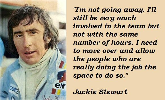 Jackie Stewart's quote #1