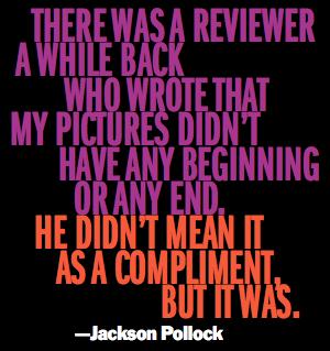 Jackson Pollock's quote #4