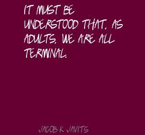 Jacob K. Javits's quote #3