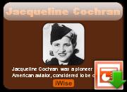 Jacqueline Cochran's quote #1