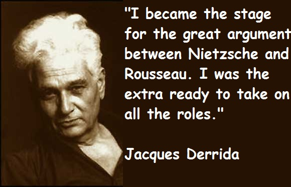 Jacques Derrida's quote #3