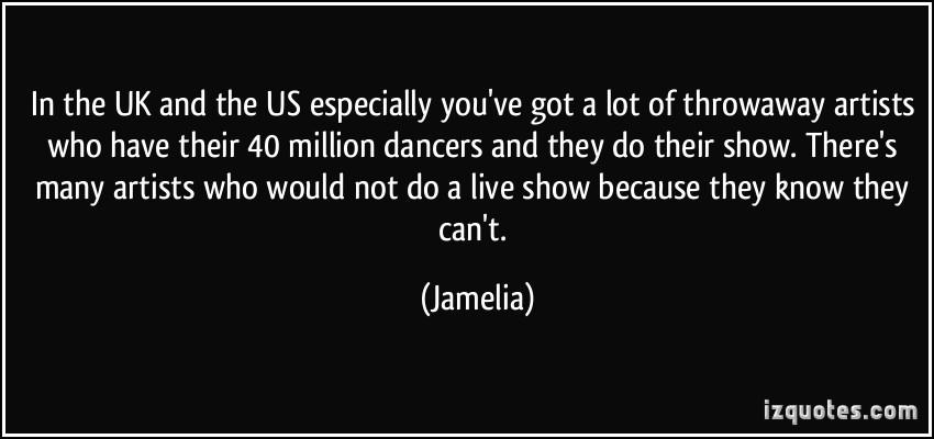 Jamelia's quote #6