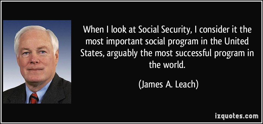 James A. Leach's quote #1