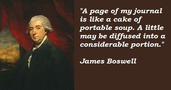 James Boswell's quote #2