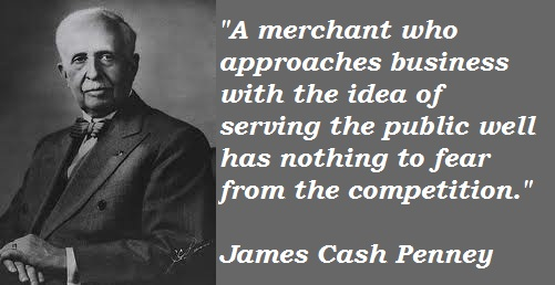 James Cash Penney's quote #1